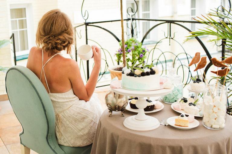 весільний сніданок у ресторані