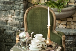 BREAKFAST WITH CHAMPAGNE IN OUR GARDEN of Vozdvyzhensky boutique hotel