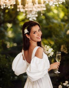 Morning of the bride of Vozdvyzhensky boutique hotel