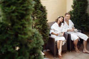 Фотосессия молодоженов в отеле Киева на Воздвиженке