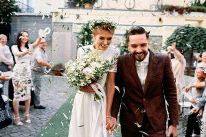 Стильная свадьба в ресторане Киева