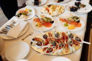 Свадебное меню в ресторане Терраса в Киеве